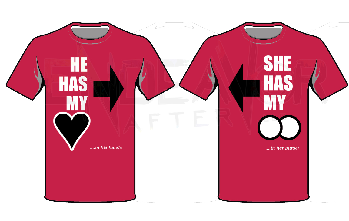 His And Heru0027s Valentine Shirts